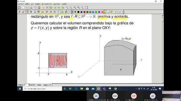 Matemáticas 1 GITI grupo A  Clase 29 (Integrales dobles 1)