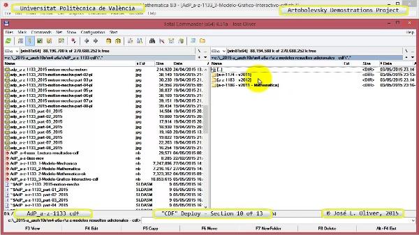 Creación Documento Interactivo a-z-1133 con Mathematica - 10 de 13