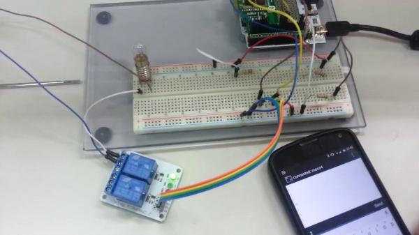 Arduino. Control de circuito de alterna vía relés y bluetooth