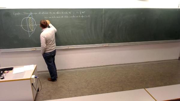 Matemáticas I-21-1-Ejemplo demostrar el volumen de una esfera
