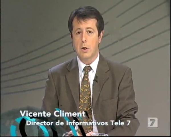Elías de los Reyes en la Tertulia de Tele7 - Diciembre de 2008