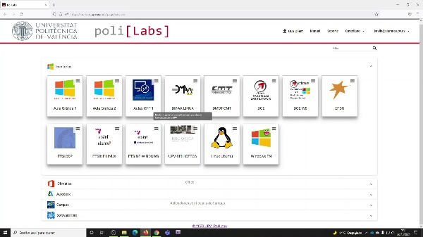 POLILABS USUARIOS - Instalación del Cliente UDS en un dispositivo Windows