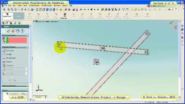 Creación Virtual Mecanismo a_z_1196 con Solidworks - 2 de 4
