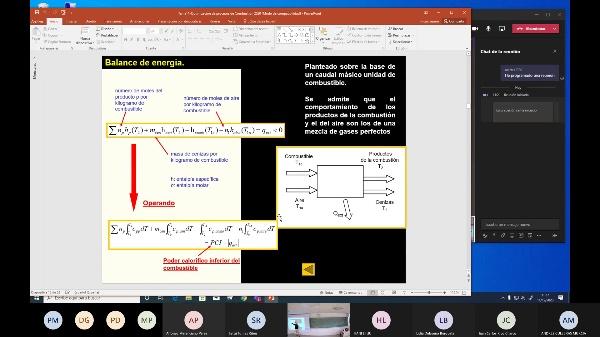 Termodinámica Técnica 2020-2021 Tema 11 Problemas análisis exergético de la combustión Clase del 11-12-2020