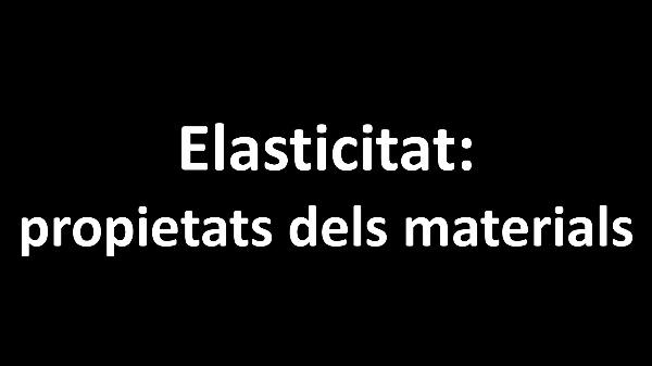 Elasticitat: propietats dels materials V