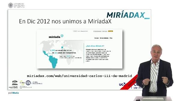 SPOC Gestión de MOOC. Universidad Carlos III de Madrid. Buenas prácticas en educación digital 1