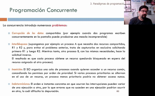 Tema 1. Programación concurrente y paralela