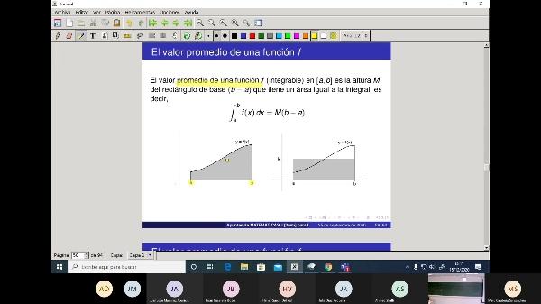 Matemáticas 1 GITI grupo A  Clase 28 (Integrales 3)