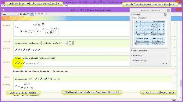 Solución Cinemática Simbólica a-z-1133 con Mathematica - 18 de 26