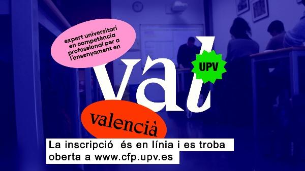 Expert Universitari en Competència Professional per a l¿Ensenyament en Valencià