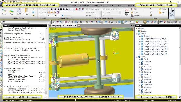 Simulación Cinemática Tang_DumpTruck2Inv-v8r5 con Recurdyn - MopTa - 4 de 4