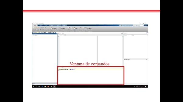 Entorno de trabajo en Matlab