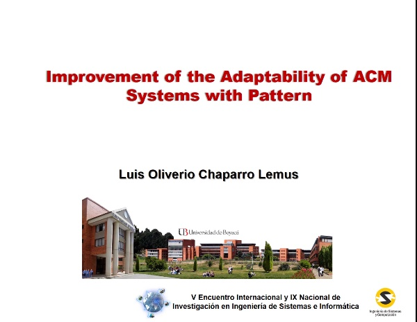 Improvement adaptability slides