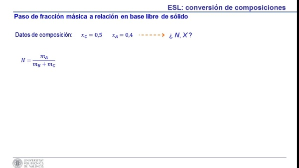 Cómo convertir distintas formas de expresar la composición en procesos de lixiviación y de lavado de sólidos