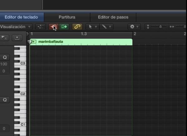 Tutorial Logic Pro X 5.3 Introducción paso a paso de notas midi