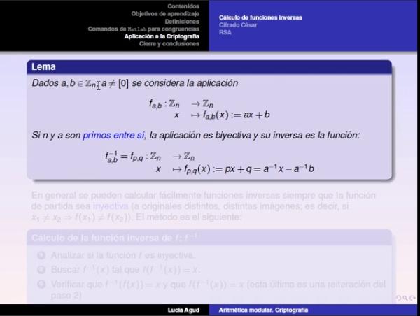Aritmética modular parte 3: introducción a la criptografía, cifrado César