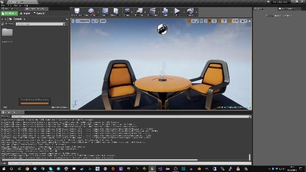 Unreal Engine - Colocando objetos en un nivel nuevo