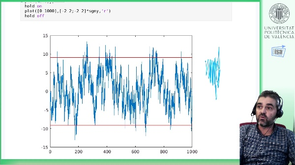 Simulación/Identificación serie temporal continua