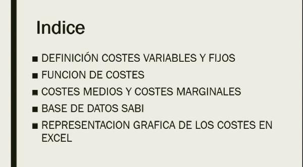 IDENTIFICACION DE LOS COSTES DE UNA EMPRESA: MERCADONA