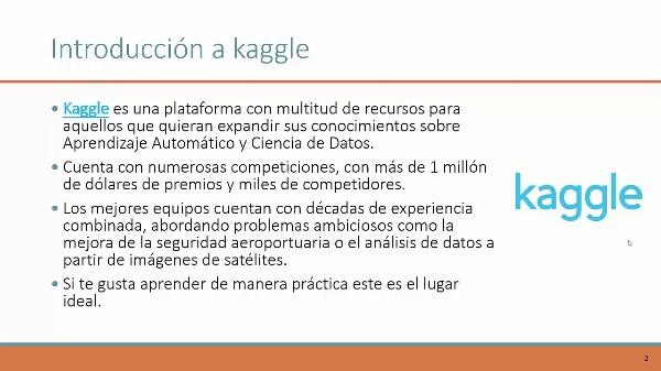 Proyecto Kaggle Video Presentación