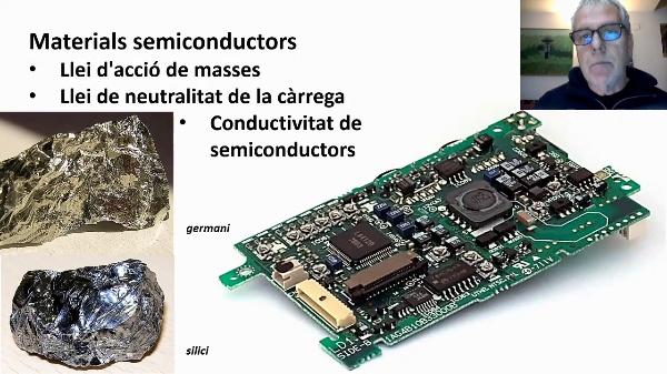 Semiconductors: concentració d'electros i buits, i conductivitat