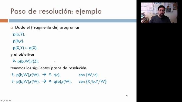 El concepto de resolución en programación lógica