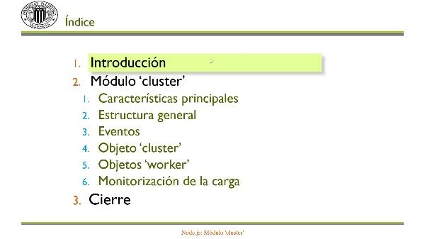 Node.js: Módulo 'cluster'