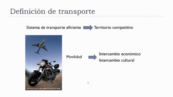Transporte, definición, elementos, tipos y características en España