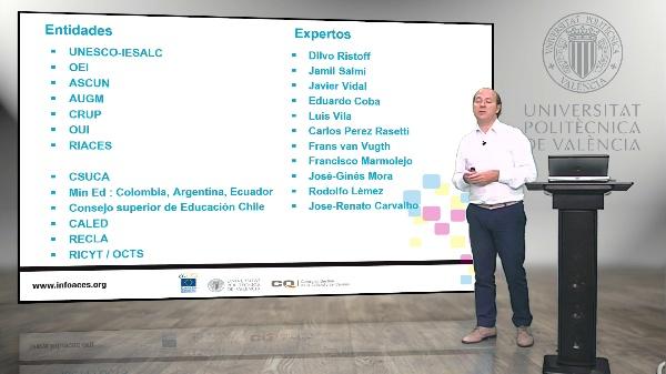 INFOACES: Un Sistema Integral de Información  para la Educación superior de América Latina