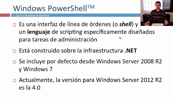 Primeros pasos en Windows PowerShell