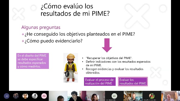 Diseño metodológico para evaluar resultados del PIME
