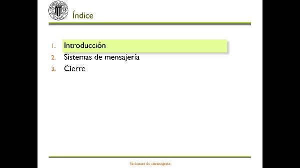 Sistemas de mensajería