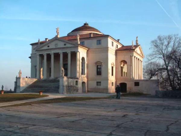 Las villas de Palladio: la villa Rotonda de Vicenza