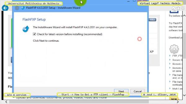 vLTm start how-to-get-a-FTP-client no-audio