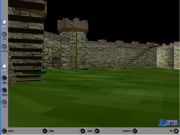 Navegador de ficheros VRML: cortona 3D