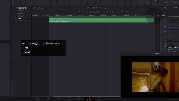 Creating a reverse reverb in Davinci Resolve - Fairlight