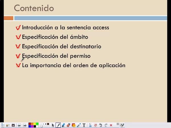Control de acceso en openLDAP