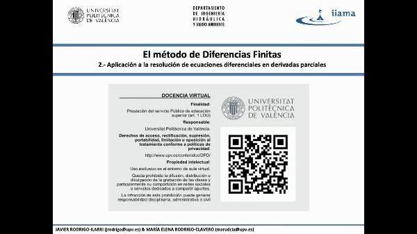 02.08b.- El método de Diferencias Finitas-2