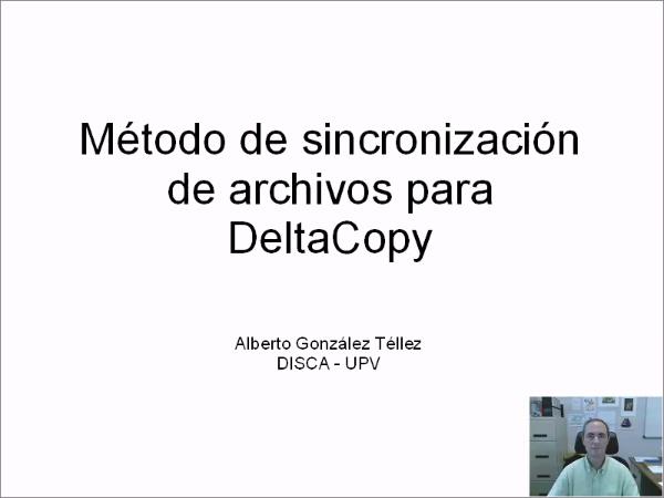 Método de sincronización de archivos