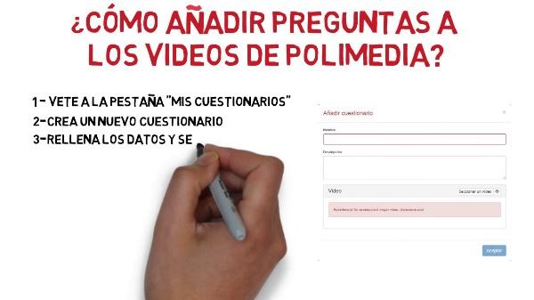 Cómo añadir preguntas a los vídeos de Media para crear cuestionarios