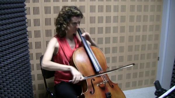 Constelación IV-Sombra de Luna, S. Lanchares / Mayte García Atienza, violonchelo