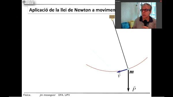 Dinámica. Ley de Newton en movimientos ligados. C