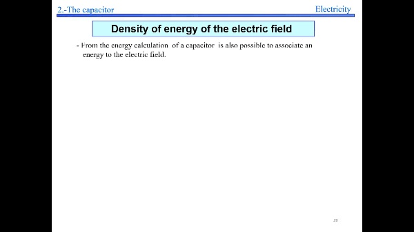 Elec 2- Density of energy S29