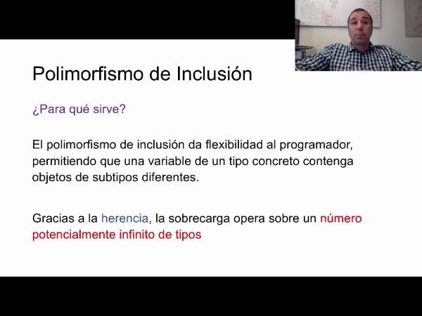Polimorfismo de inclusión ¿qué es y para qué sirve?
