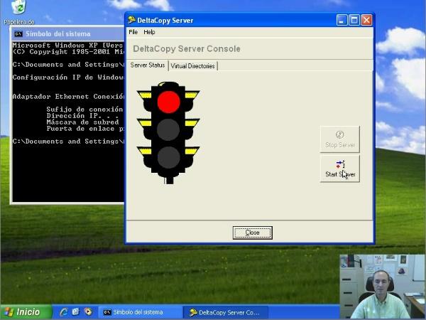 DeltaCopy: sincronización de archivos en Windows