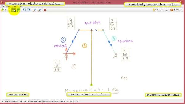 Creación Virtual Mecanismo a-c-0658 con Solidworks - 09 de 10