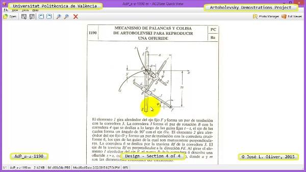 Creación Virtual Mecanismo a-z-1190 con Solidworks - 4 de 4