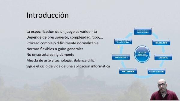 Producción del juego. Fases del ciclo de vida