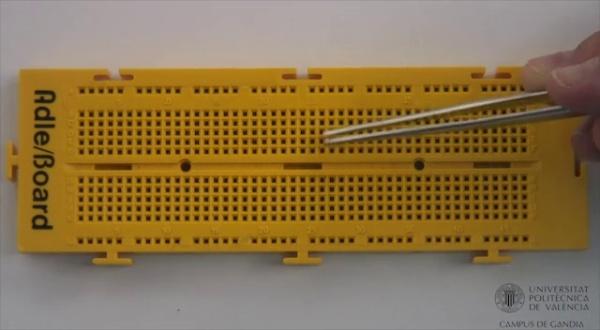 Características de la placa Board
