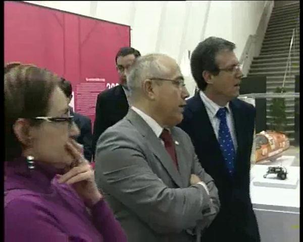 Expo 40 aniversario UPV en Alcoy